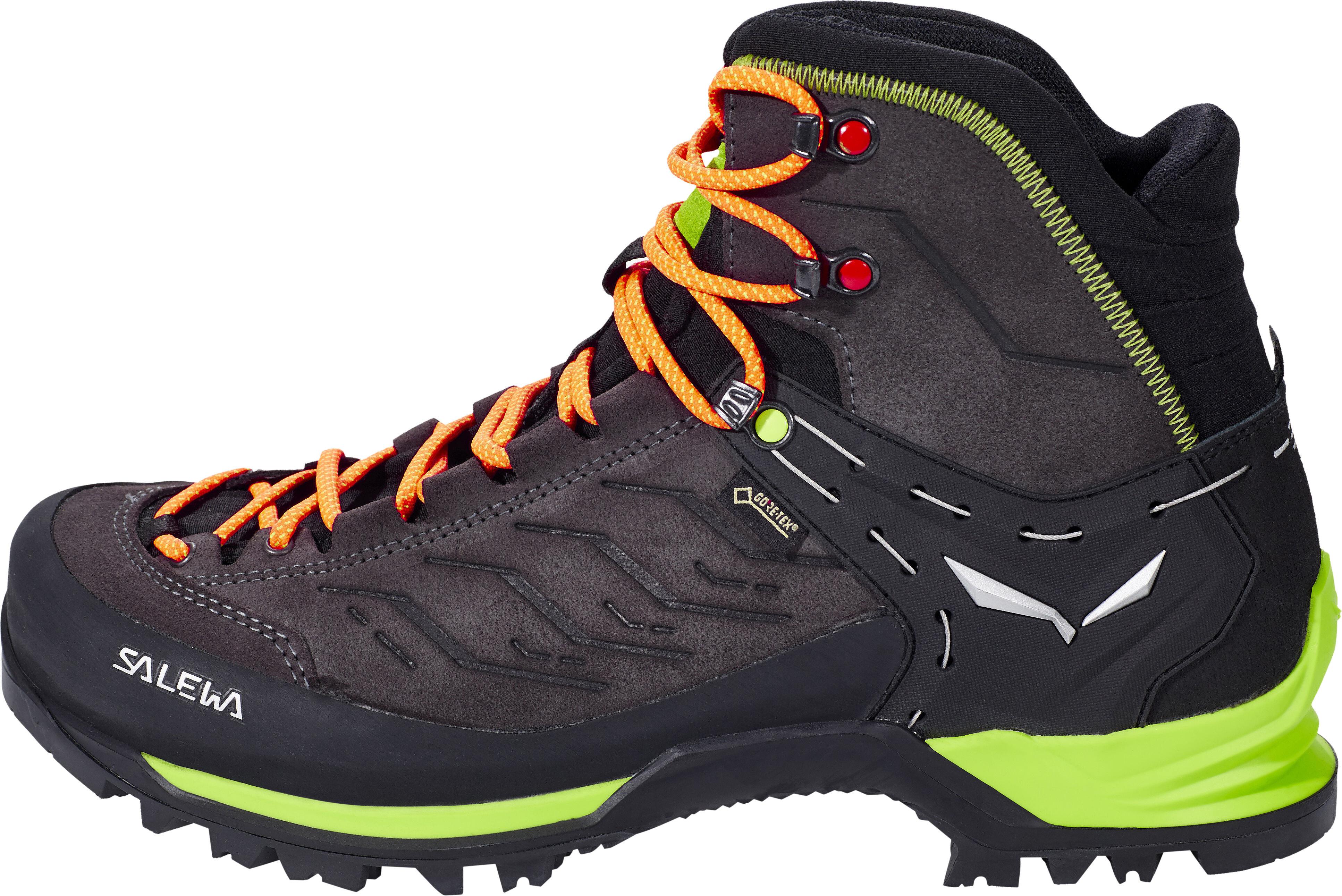 2ec6dcf2b6c SALEWA MTN Trainer Mid GTX Shoes Men black/sulphur spring